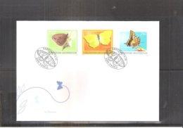 Papillons - FDC Liechtenstein 2010 - Série Complète (à Voir) - Schmetterlinge