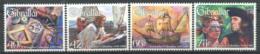 Gibraltar 2006 Mi. 1186-1189 Neuf ** 100% Christophe Colomb - Gibraltar