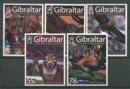 Gibraltar 2007 Mi. 1218-1222 Neuf ** 100% Animaux - Gibraltar