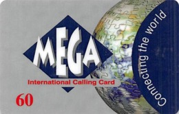 Mega International Calling Card - Phonecards