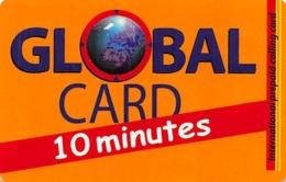 10 Minute Global Card - Zonder Classificatie