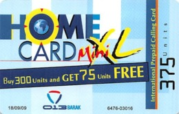 Home Card XL 375 Units - Phonecards
