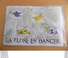 Bloc Feuillet Neuf (sous Blister) France 2019 : La Flore En Danger (fleurs) - Blocs & Feuillets