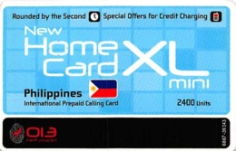 Home Card XL Mini 2400 Units Valid 23/11/10 - Phonecards