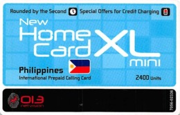 Home Card XL Mini 2400 Units Valid 29/06/11 - Zonder Classificatie