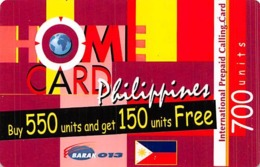 Home Card Philippines 700 Units Exp 13/04/06 - Phonecards