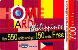 Home Card Philippines 700 Units Exp 13/04/06 - Zonder Classificatie