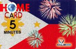 Home Card 5 Minutes Exp Date 22/09/10 - Phonecards
