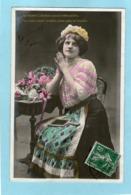 Jeune Fille - Ste-Catherine - 1909 - (PHOT WALERY) - - Femmes