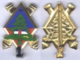 Insigne De La 1ére Batterie Du 68e Régiment D'Artillerie - F.I.N.U.L - Matriculé - Esercito