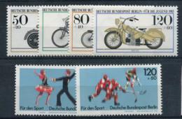 Allemagne 1983 Mi. 694-699 Neuf ** 100% Moteurs Historiques, Sport - [5] Berlin