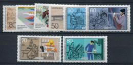Allemagne 1986 Mi. 750-757 Neuf ** 100% Sports, Artisanat - [5] Berlín