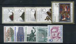 Allemagne 1987 Mi. 788-797 Neuf ** 100% Or, Vues, Femmes - [5] Berlín