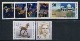 Allemagne 1988 Mi. 804-810 Neuf ** 100% Orchestre, Femme - [5] Berlín