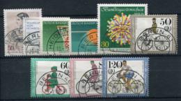 Allemagne 1985 Mi. 730-738 Oblitéré 100% Vélos, Sport - [5] Berlin