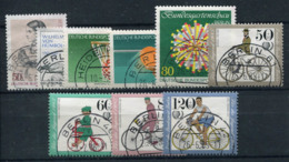 Allemagne 1985 Mi. 730-738 Oblitéré 100% Vélos, Sport - [5] Berlín