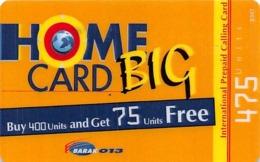 Home Card Big 475 Units - Phonecards