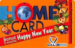 Home Card Bonus 5 Minutes Happy New Year Exp Date 12/11/04 - Zonder Classificatie