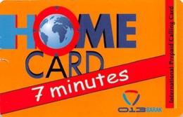 Home Card Bonus 7 Minutes - Unclassified
