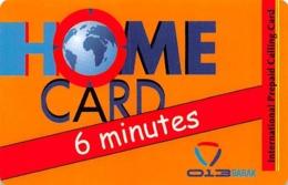 Home Card Bonus 6 Minutes Exp Date 25/07/08 - Phonecards