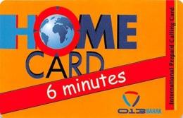 Home Card Bonus 6 Minutes Exp Date 17/12/08 - Phonecards