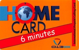 Home Card Bonus 6 Minutes Exp Date 30/12/08 - Phonecards