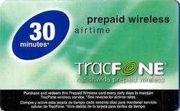 Tracfone Nationwide Prepaid Wireless 30 Minutes - Zonder Classificatie