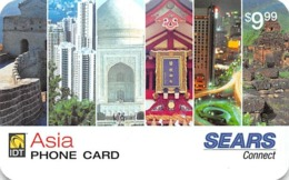 Sears Connect IDT Asia Phone Card - Phonecards