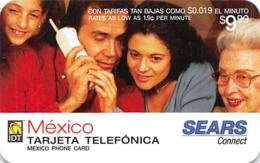 Sears Connect IDT Mexico Phone Card - Unclassified