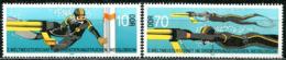 DDR - Mi 2961 / 2962- ** Postfrisch (E) - 10-70Pf     Orientierungstauchen WM - [6] Oost-Duitsland