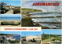 FRANCIA  CALVADOS  ARROMANCHES  Souvenir De Debarquement 6 Juin 1944  Multivue - Arromanches