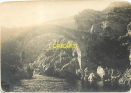 Corse, Asco, Ancienne Photo Originale, Le Pont Genois, Beau Document - Autres Communes