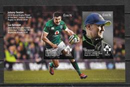 Irlande 2019 Bloc Neuf Coupe Du Monde Rugby - Blocks & Sheetlets