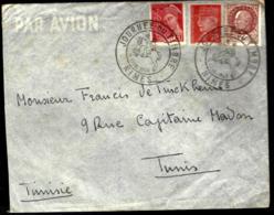 COURRIER EN PROVENANCE DE NIMES - 1942 - THÈME PÉTAIN / JOURNÉE DU TIMBRE - FDC