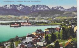 AK 0319  Gmunden Mit Dem Höllengebirge - Verlag Brandt Um 1918 - Gmunden