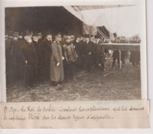 ST CYR LE ROI DE SERBIE  CAPITAINE ETÉVÉ DIVERS TYPES D'AVIONS  18*13CM Maurice-Louis BRANGER PARÍS (1874-1950) - Aviación