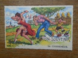 Carte Assez Rare , Chasseneuil , Un Souvenir De Chasseneuil - France