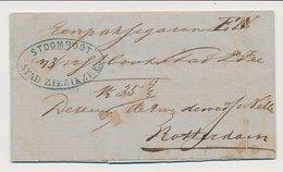 Zierikzee - Rotterdam 1860 - Stoomboot Stad Zierikzee - Nederland