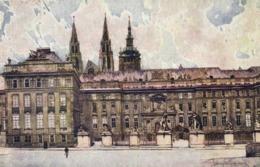 Illustrateur L Setelik Prague Chateau Royal RV - Peintures & Tableaux