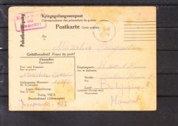 (Cl. B.) - Correspondance Des Prisonniers De Guerre - Belgique