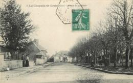 LA CHAPELLE SAINT URSIN - Place De La Mairie. - France