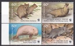 Australia ASC 2914-2917 2011 WWF For Nature, Mint Never Hinged - 2010-... Elizabeth II