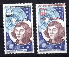 Sellos Nº A-92A/B Comores - Astrología