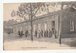 Camp De Souge / Martignas ( Gironde) , L'Infirmerie + Cachet 144ème Régiment D'Infanterie/Détachement Du Camp De Souge - Otros Municipios
