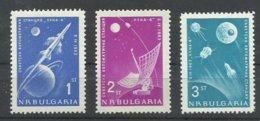 BULGARIA  YVERT  1194/96   MNH  ** - Nuevos