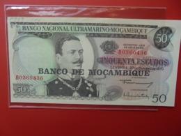 MOZAMBIQUE 50 ESCUDOS 1970 PEU CIRCULER (B.7) - Mozambique