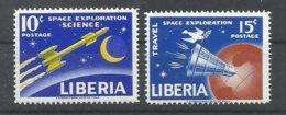 LIBERIA  YVERT  386/87    MNH  ** - Liberia
