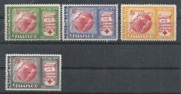 GUINEA YVERT  168/70,  AEREO  35    MNH  ** - República De Guinea (1958-...)