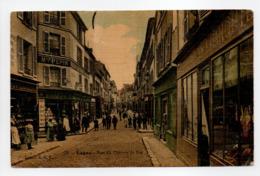 - CPA LAGNY (77) - Rue Du Chemin De Fer 1907 (belle Animation) - Edition E. R. T. N° 70 - - Lagny Sur Marne