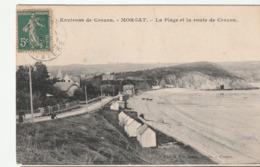 Crozon ( Finistère) Morgat , Plage Et Route - Crozon